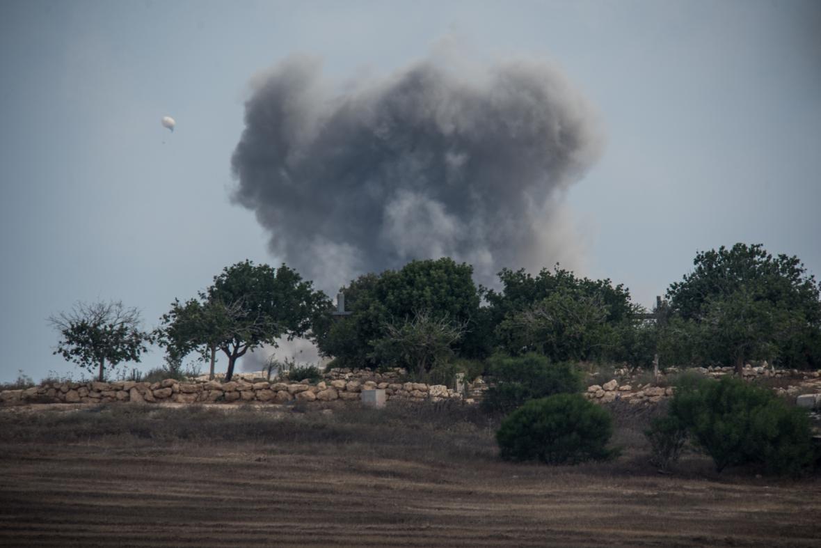 Boje v Pásmu Gazy