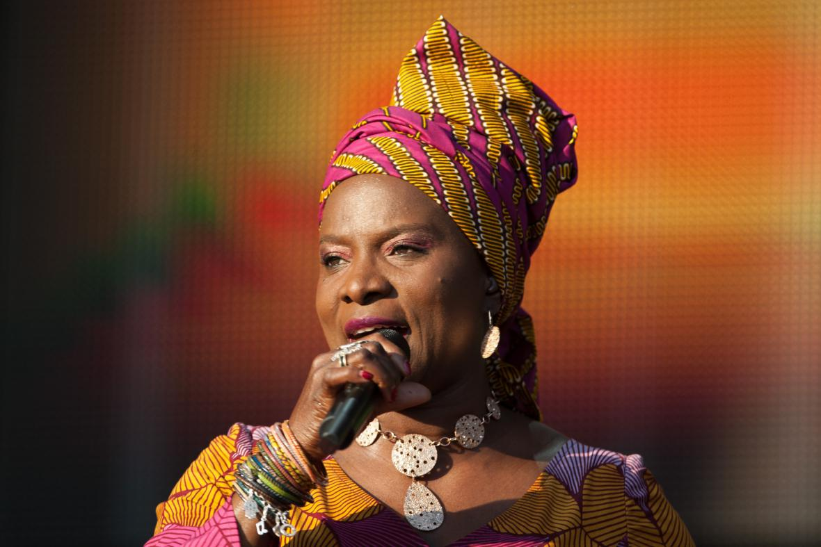 Angélique Kidjo na Colours of Ostrava