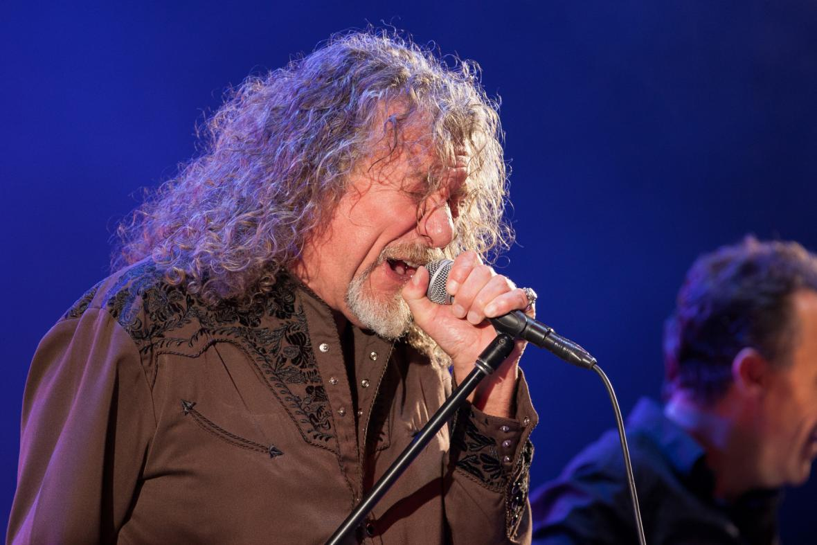 Robert Plant na Colours of Ostrava
