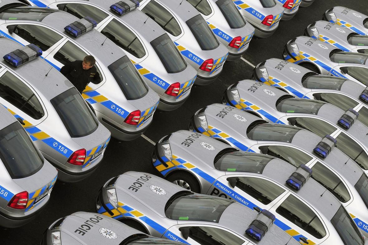 První velký nákup octavií provedla policie v listopadu 2008