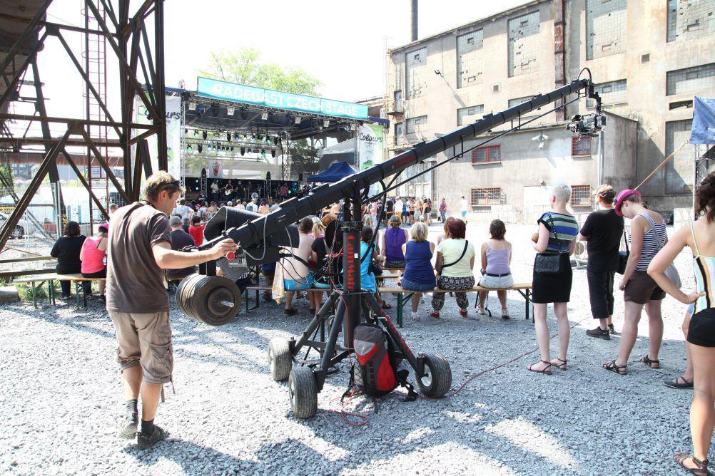 Natáčíme – jeden den na jedné scéně