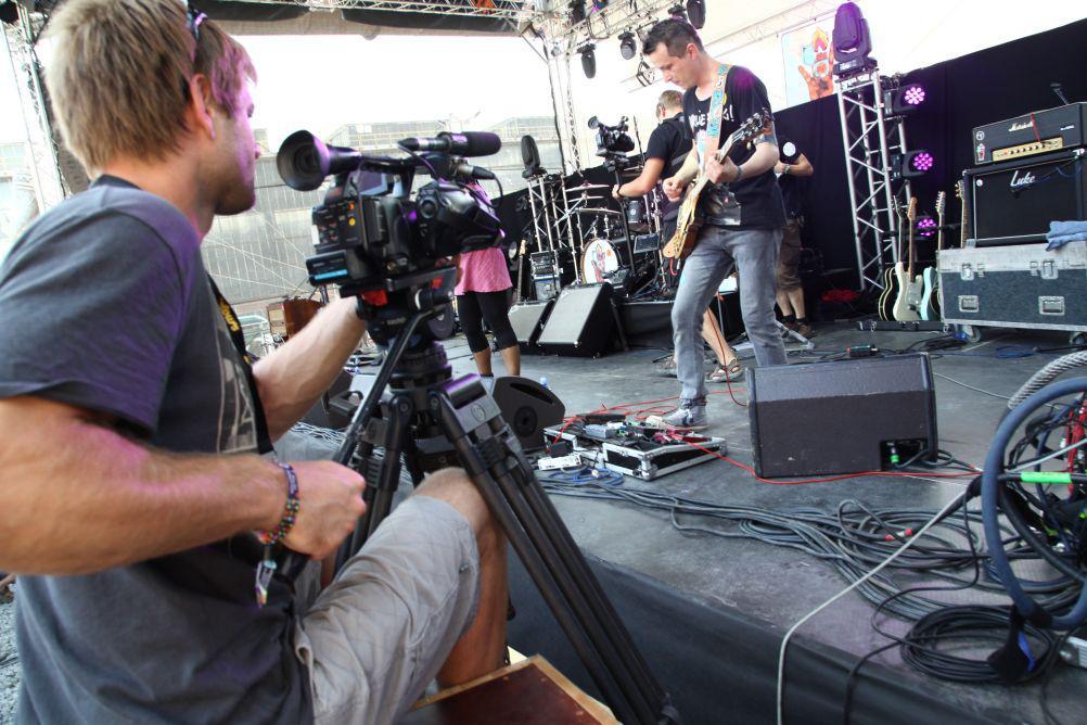 Kameraman musí mít dobré oko i pevnou ruku...