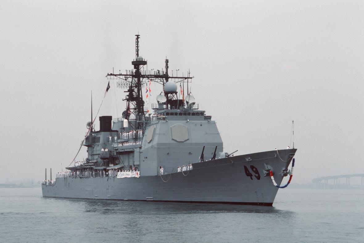 Americký křižník USS Vincennes