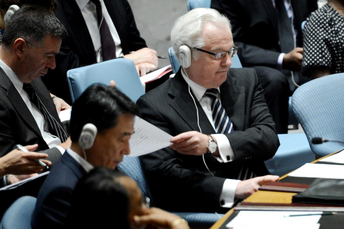 Ruský velvyslanec při OSN Vitalij Čurkin