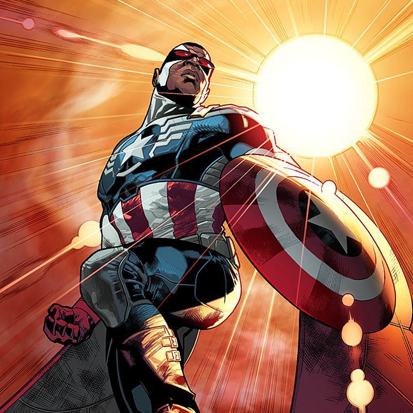 Afroamerický Kapitán Amerika