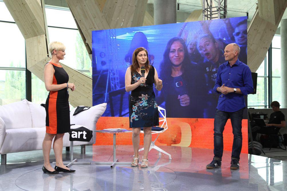 Gabriela Lefenda, Lucie Křížková a Petr Vizina