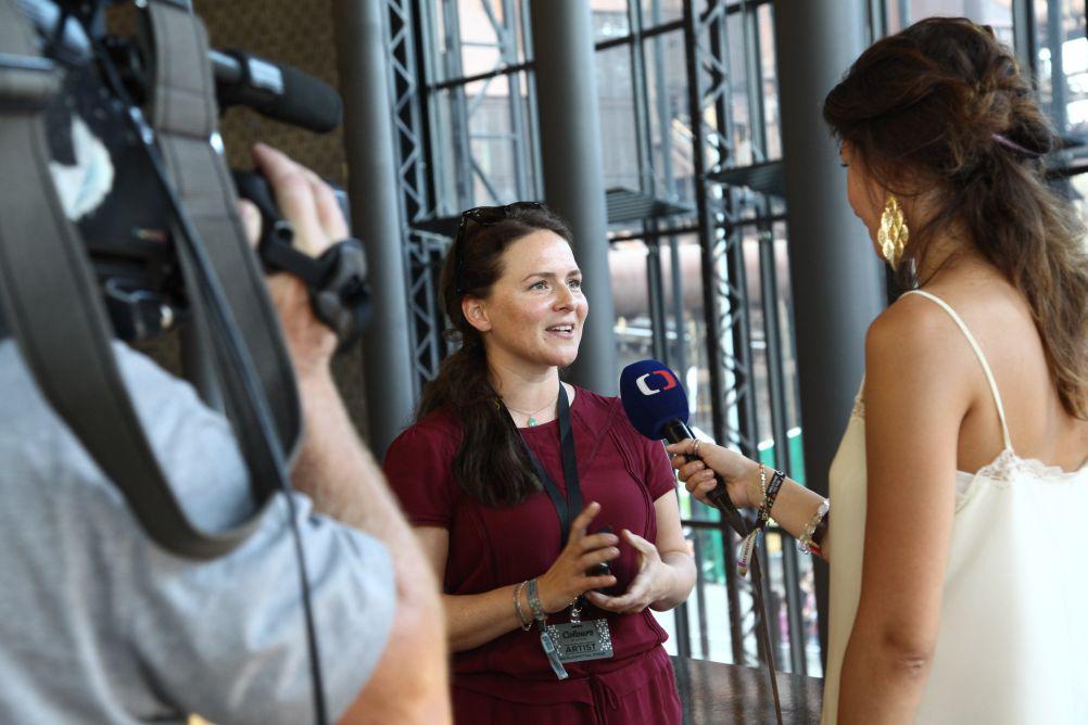 Emiliana Torrini a Bára Obozněnková