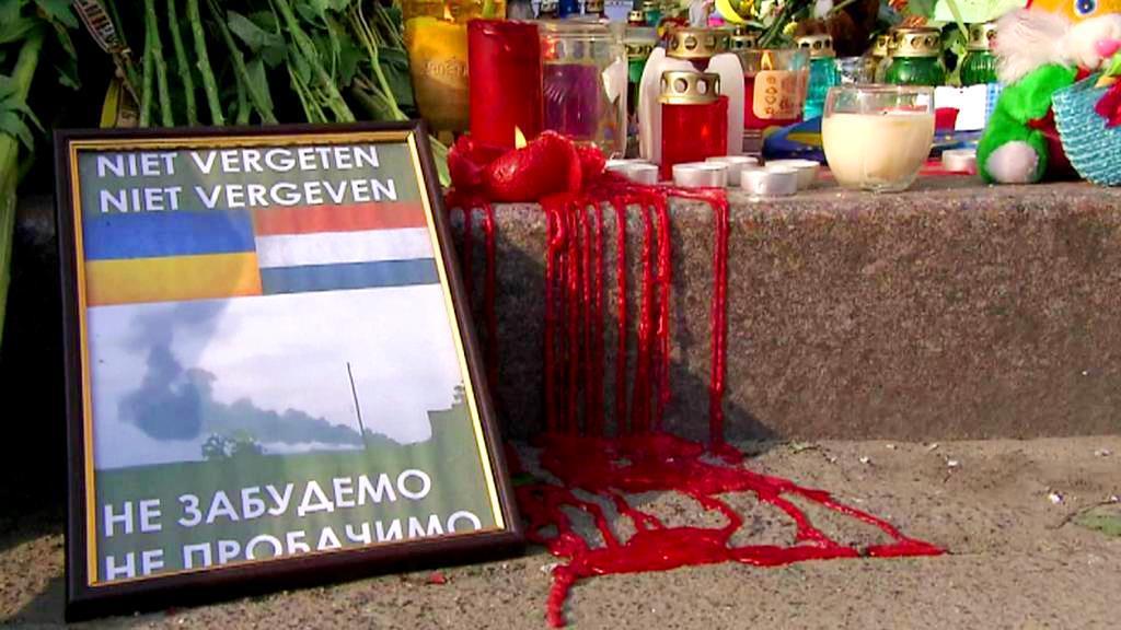 Pieta za zemřelé během letu MH17