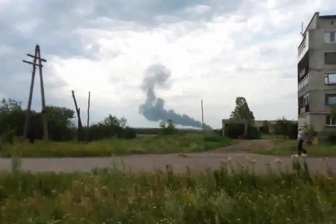 Havárie malajsijského letadla na Ukrajině