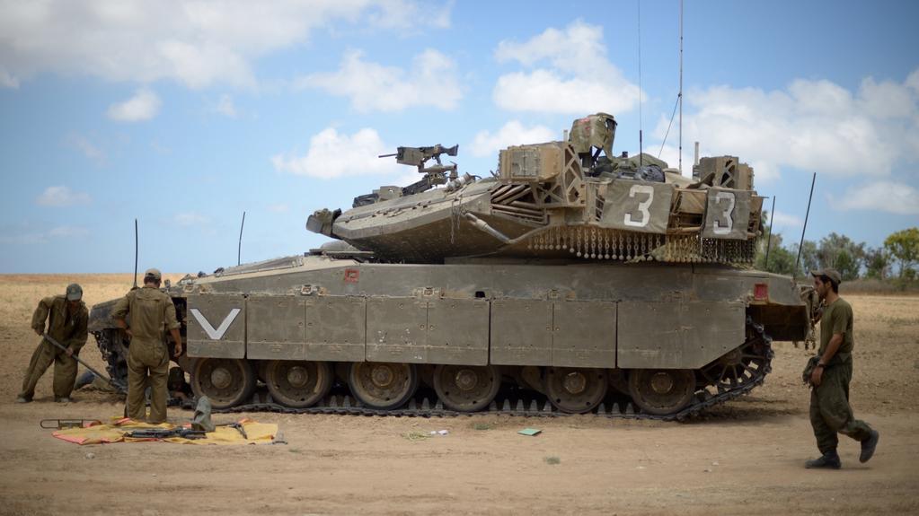 Izraelské tanky se připravují na další ofenzivu směr Gaza
