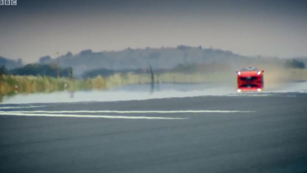 Na letišti u Ciudad Real natáčeli tvůrci pořadu Top Gear