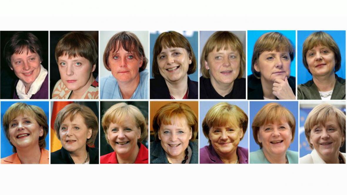 Angela Merkelová: Jak šel čas....