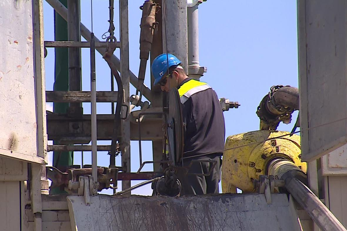 Likvidace ropných vrtů na Hodonínsku