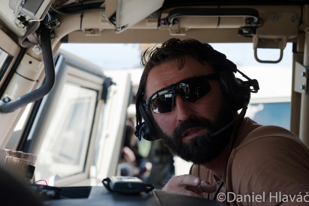Jaroslav Lieskovan na misi v Afghánistánu