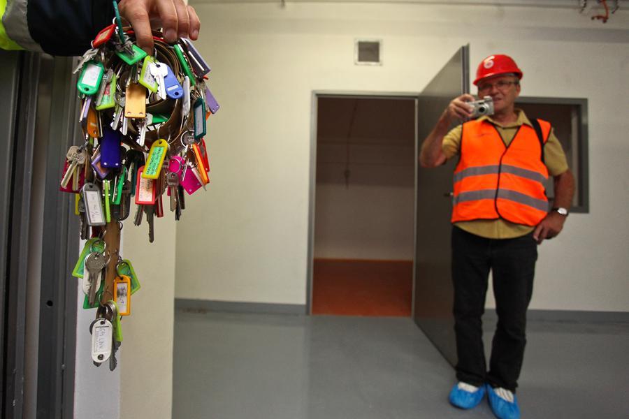 Klíče k místnostem s technologickým zázemím metra na Petřinách