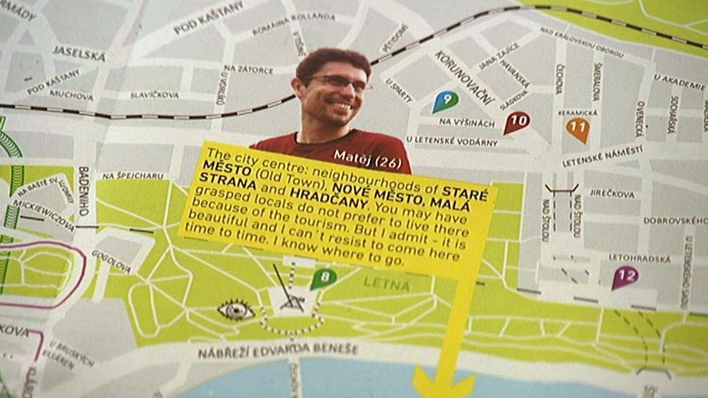 Mapa USE-IT Prague
