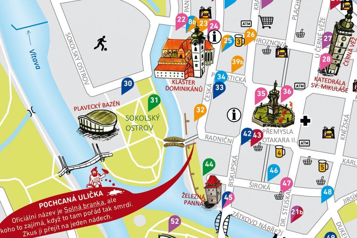 Budějovická mapa USE-IT