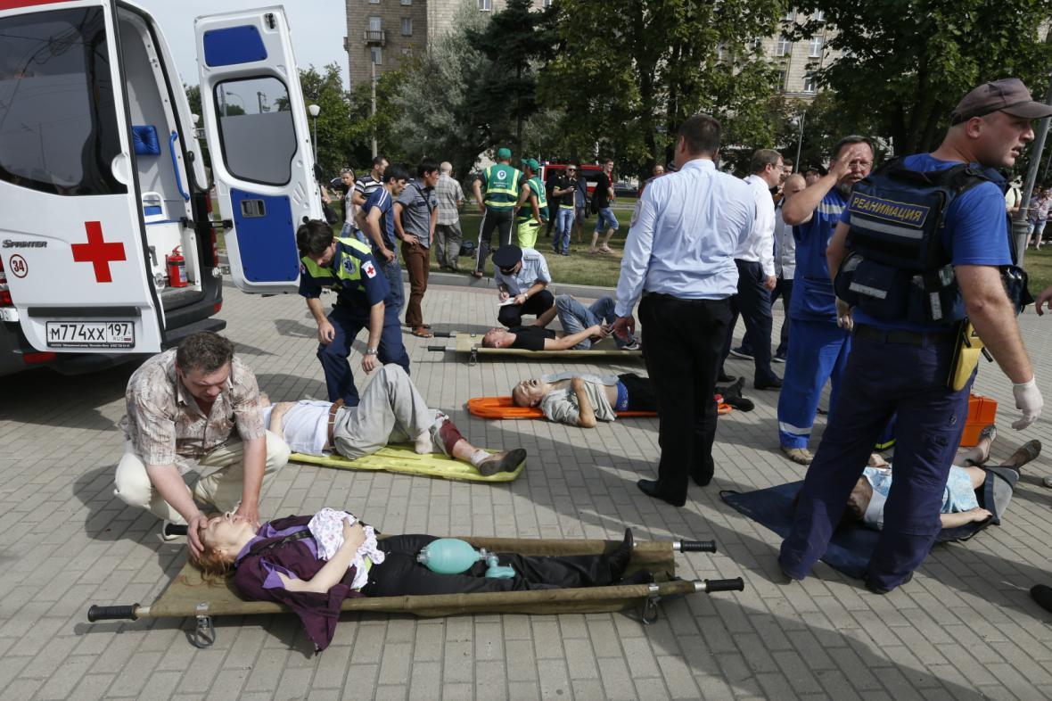 Nehoda moskevského metra