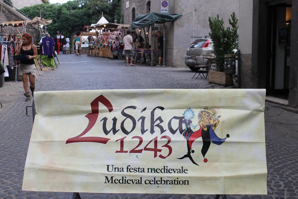 Středověké slavnosti Ludika 1243