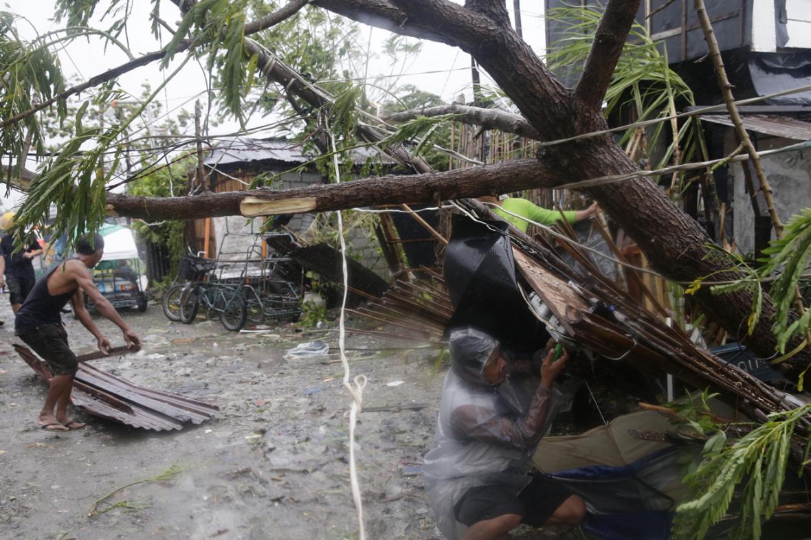 Následky tajfunu Rammasun (Glenda) na Filipínách
