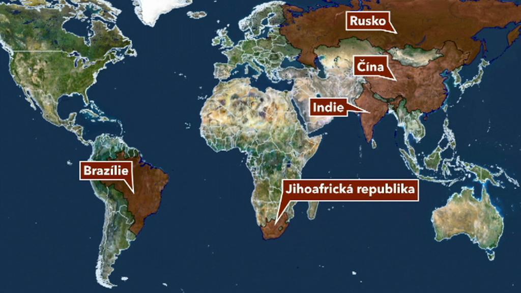 Státy BRICS