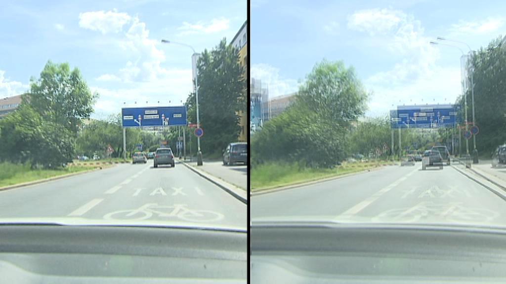 Rozdíl mezi běžným a dvojitým viděním