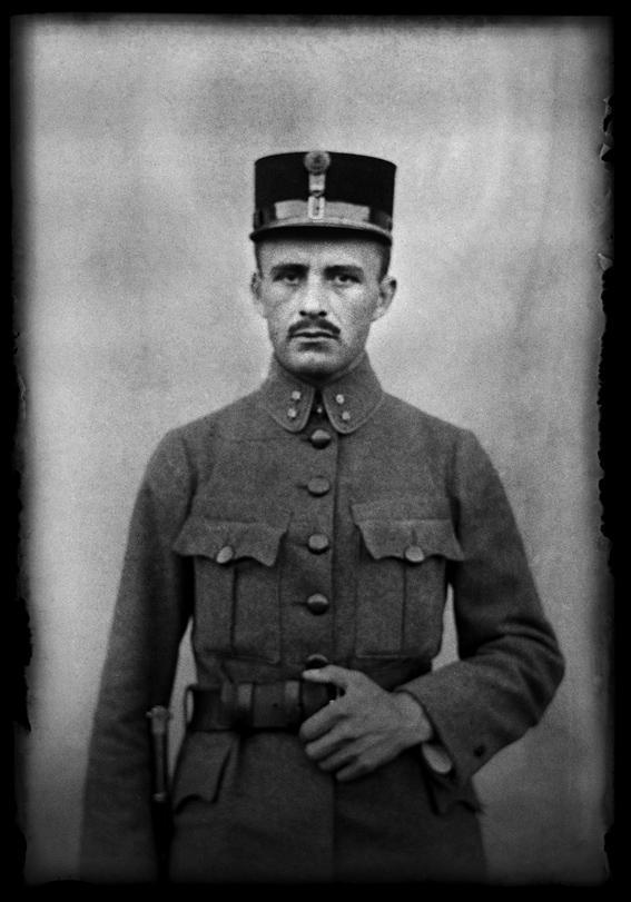 Jan Myšička - autoportrét