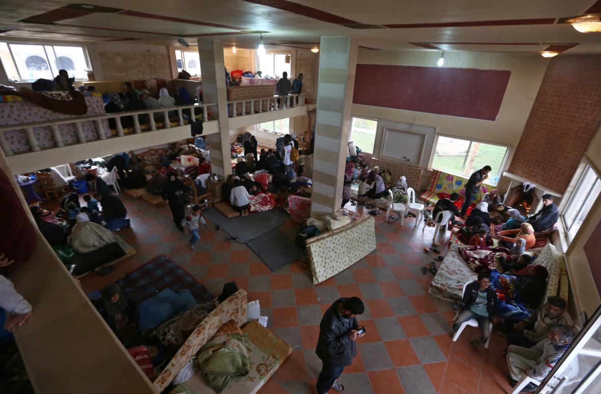 Libanon, Sýrie, stanoviště uprchlíků