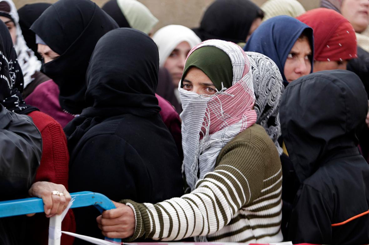 Syrští uprchlíci v Libanonu