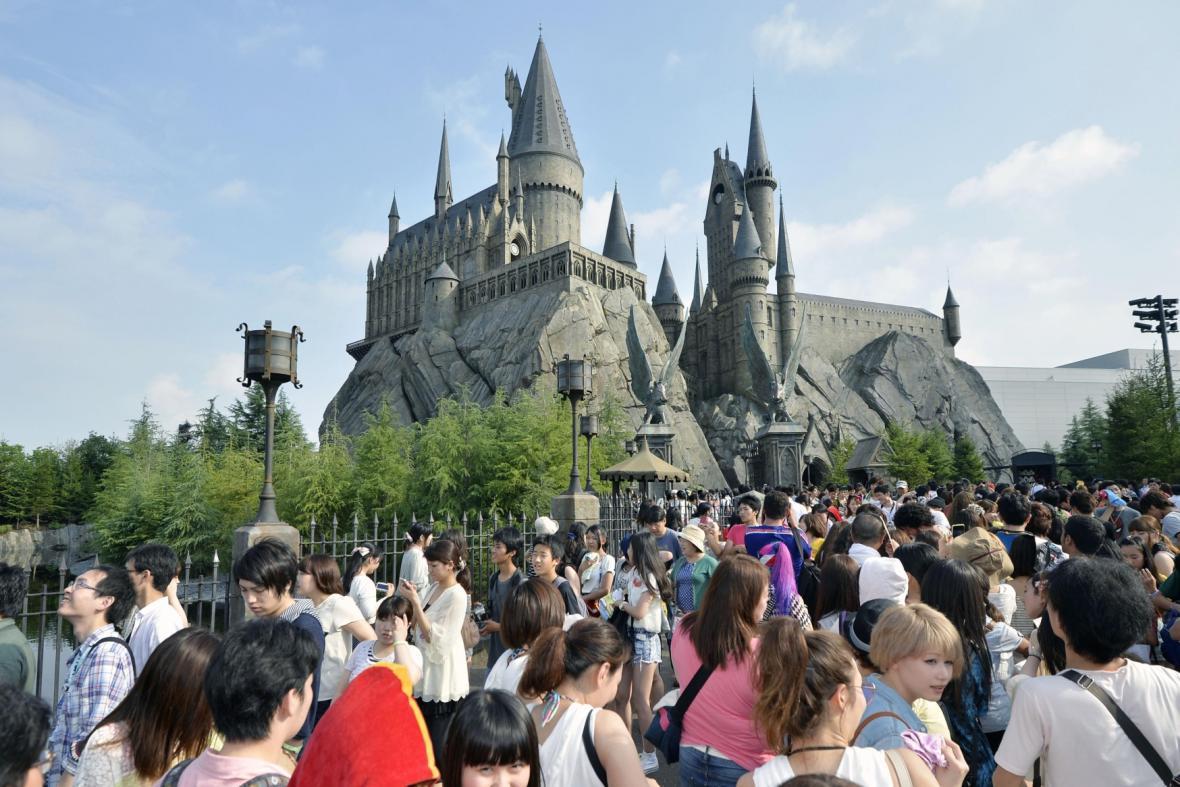 Zábavní park Harryho Pottera v Ósace