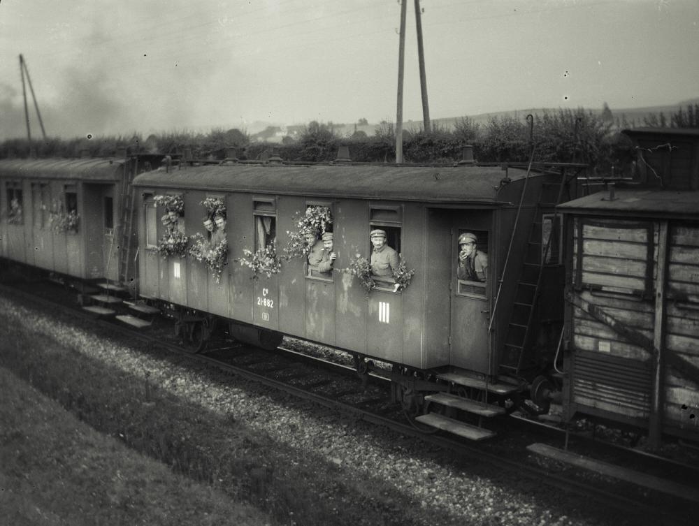Cesta legionáře Balcara zpět do vlasti. Rok 1919