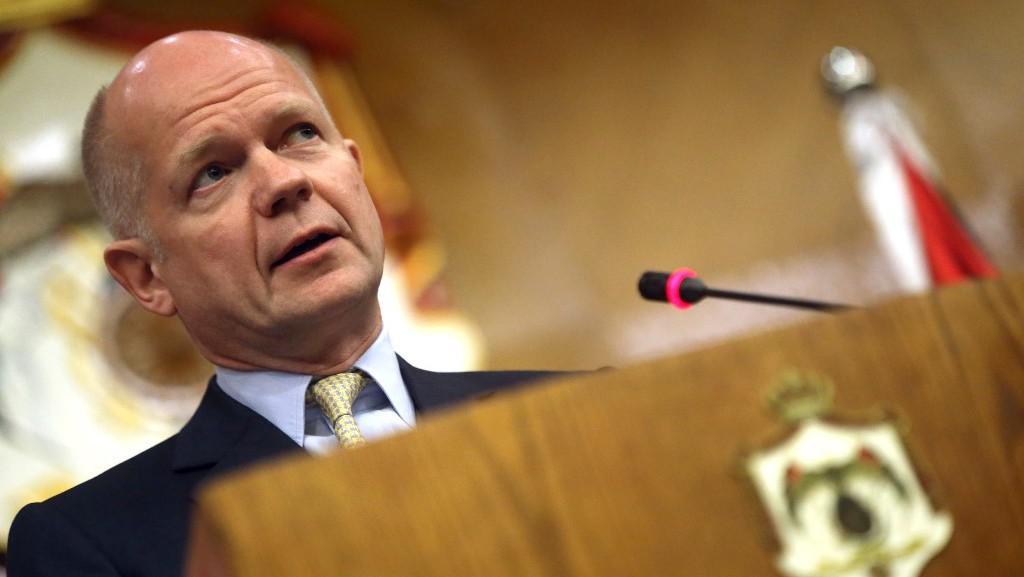 Britský ministr zahraničí William Hague