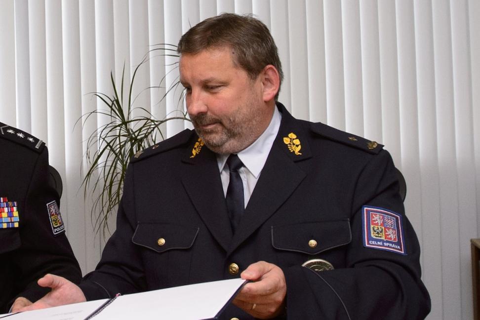 Odcházející šéf celníků Pavel Novotný