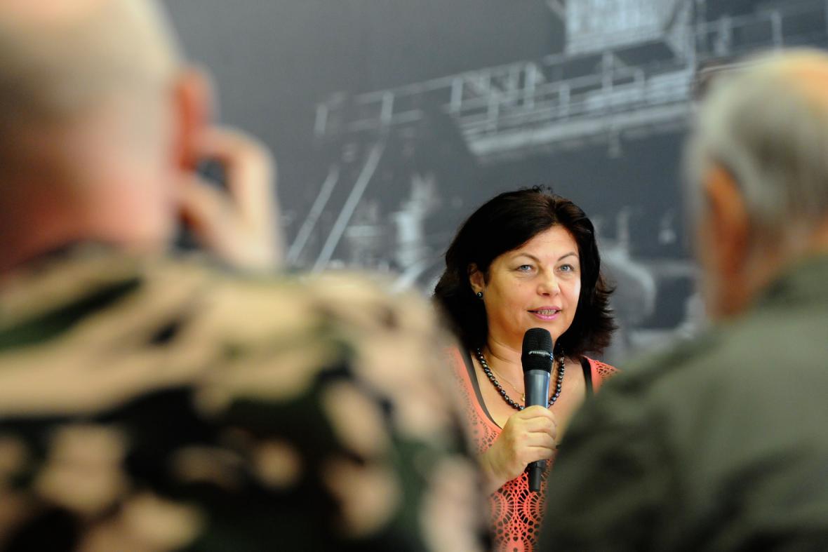 Ředitelka mezinárodního hudebního festivalu Colours of Ostrava 2013 Zlata Holušová