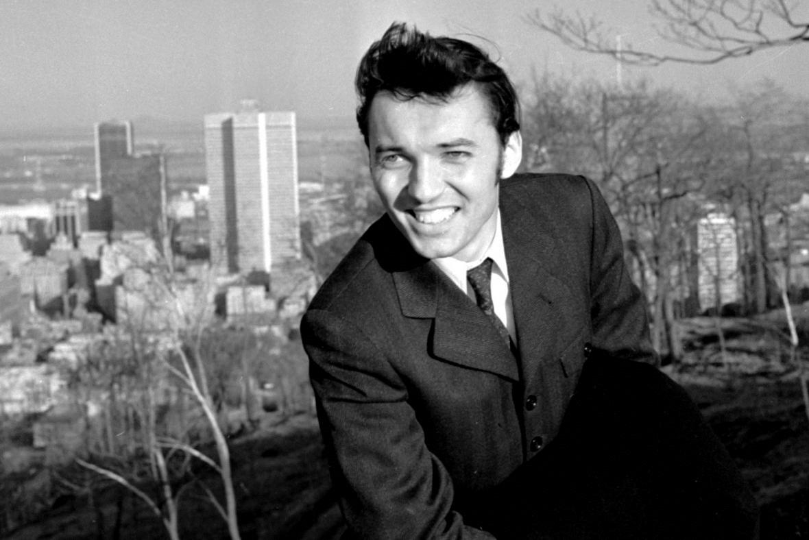 Karel Gott na procházce Montrealem, 1967