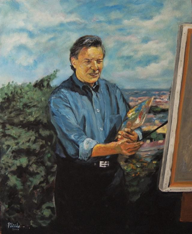 Autoportrét Karla Gotta