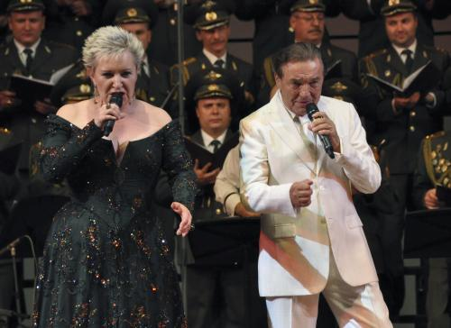 Eva Urbanová a Karel Gott