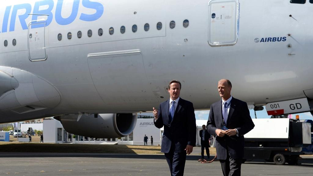 Přehlídku si nenechal ujít ani britský premiér David Cameron