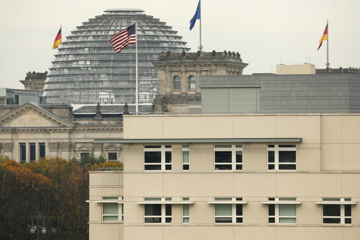 Americké velvyslanectví v Berlíně