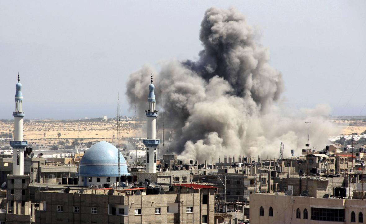 Útoky na Pásmo Gazy
