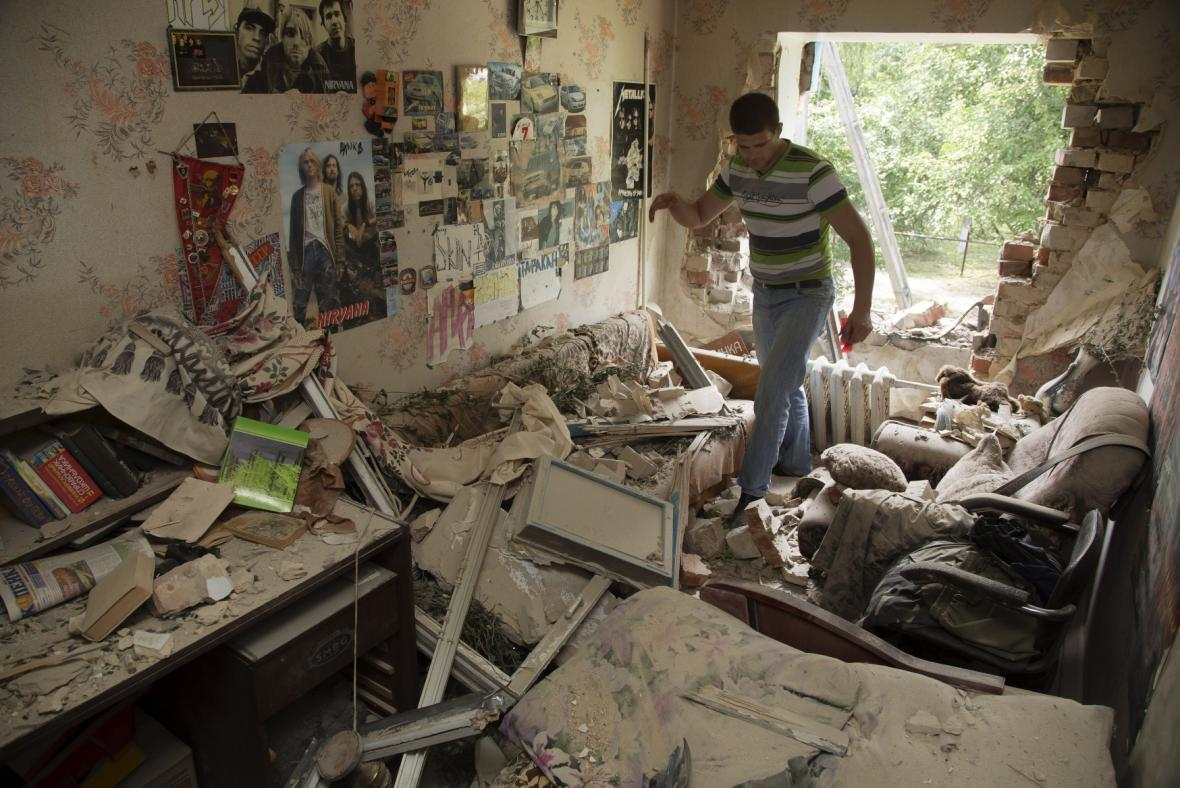 Boje na Ukrajně