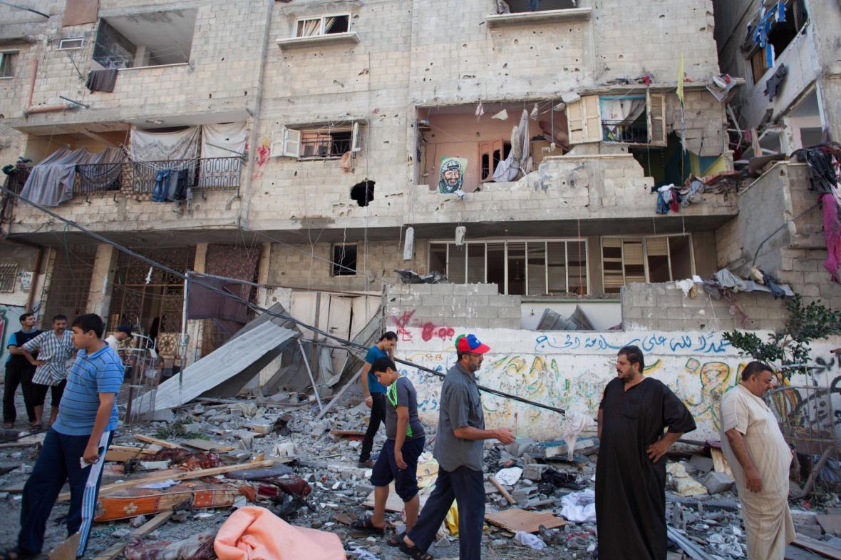 Útok na Gazu