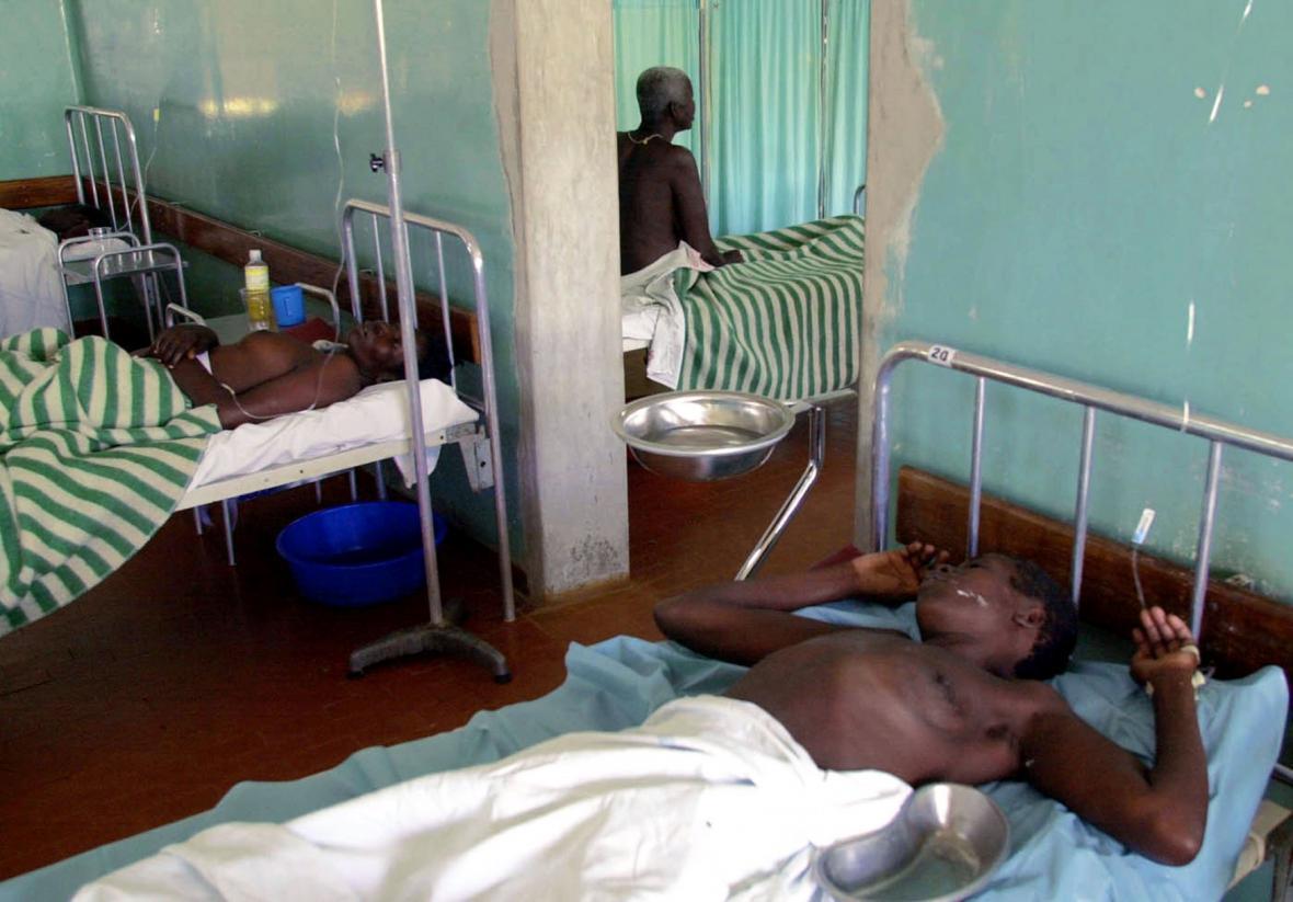 Pacienti s ebolou
