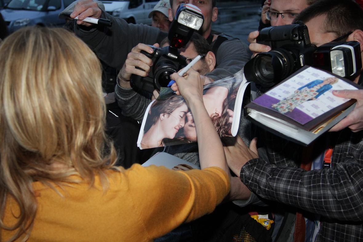 Laura Dernová na 49. MFF Karlovy Vary