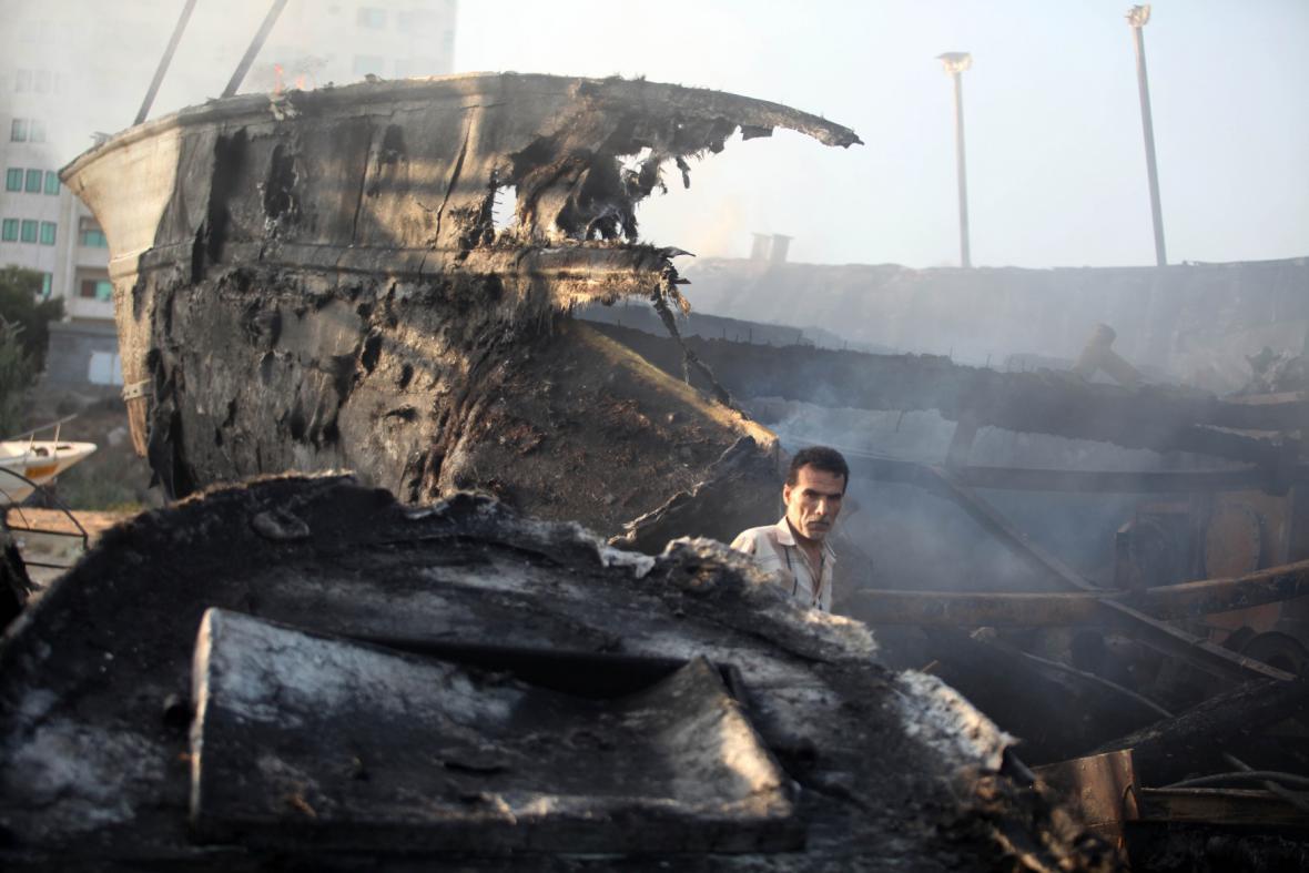 Izraelské rakety dopadají na Pásmo Gazy
