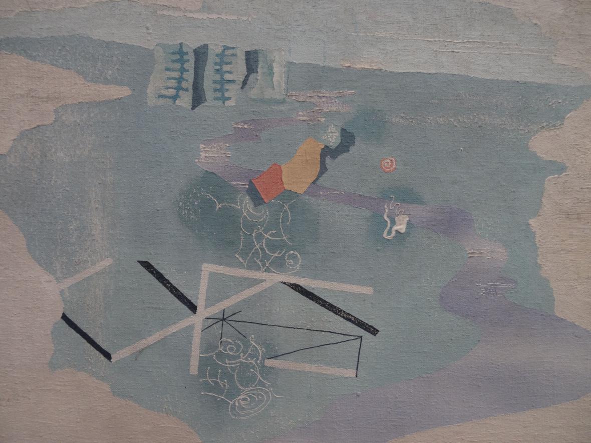 Jindřich Štyrský / Nálezy na pláži, 1927