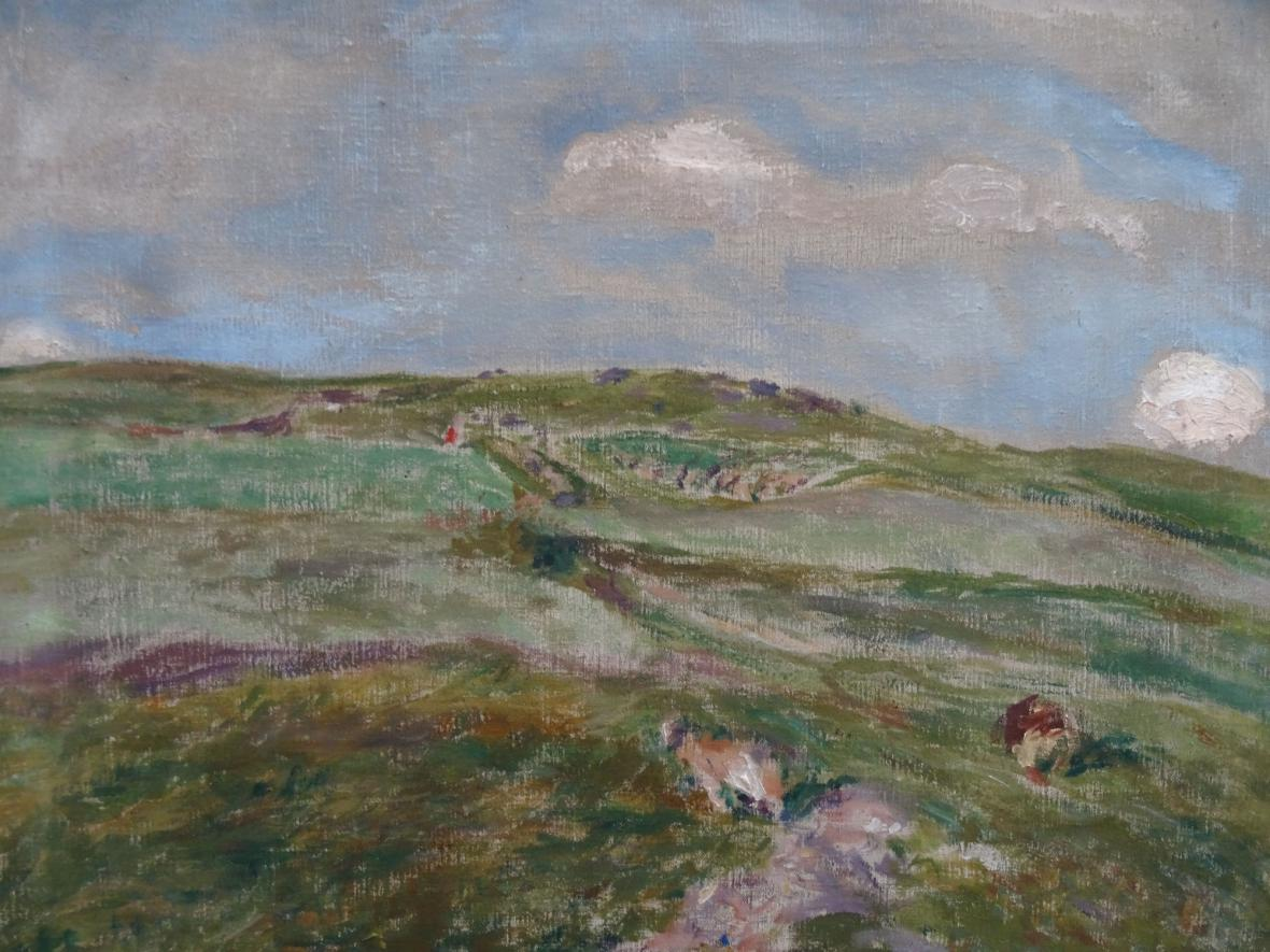 Jindřich Prucha / Pohled do kraje, 1914