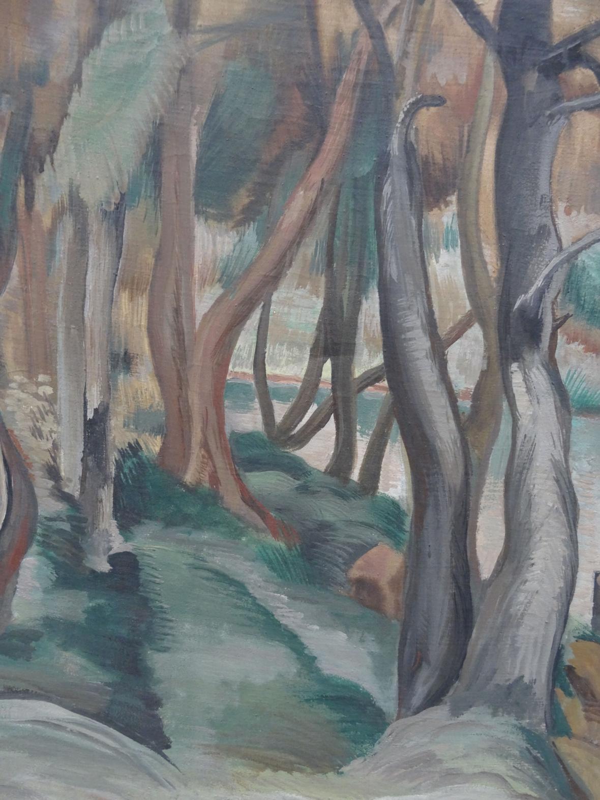 Emil Filla / Stromořadí, 1900