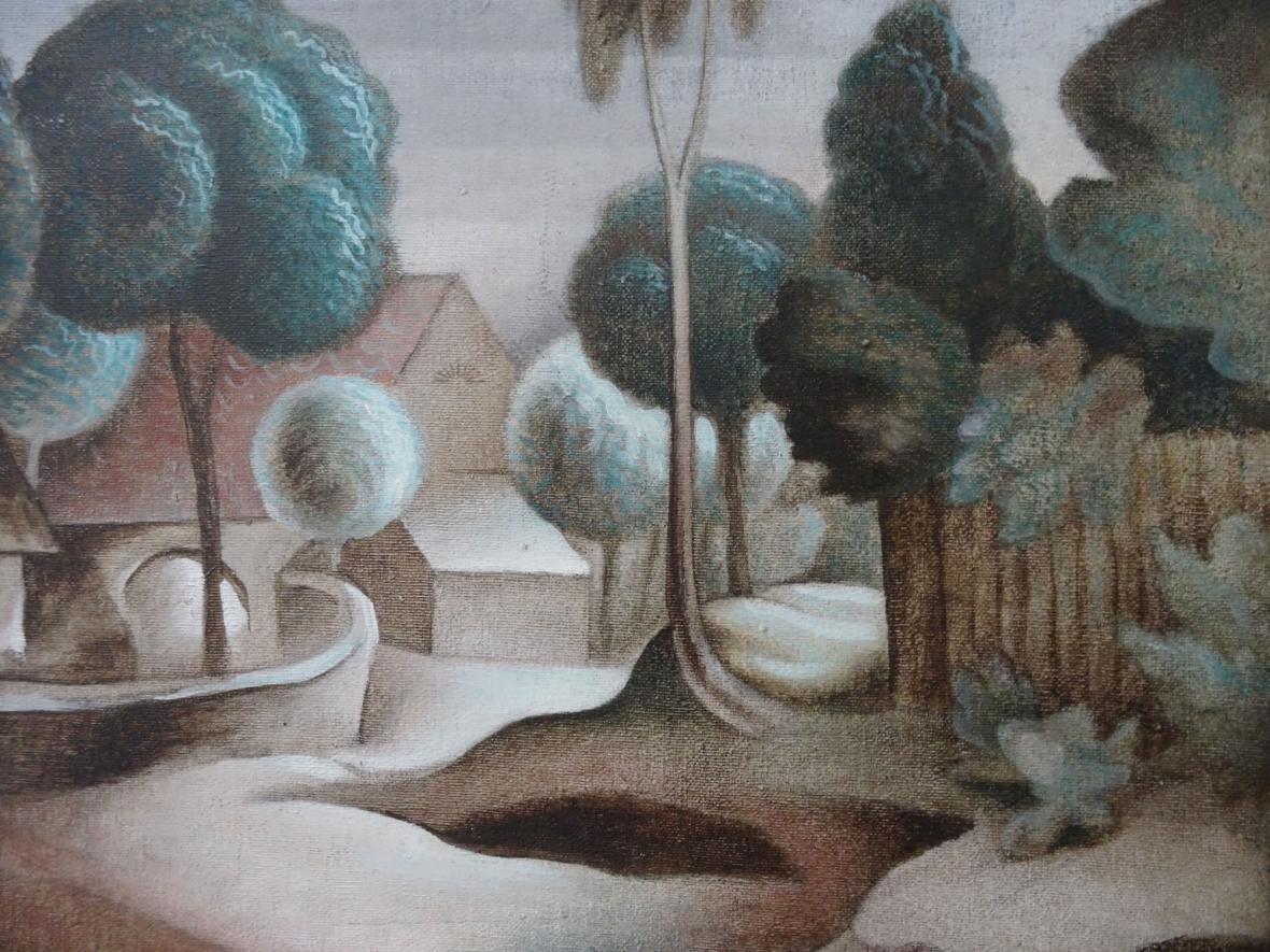 Jan Zrzavý / Krucemburk, 1920