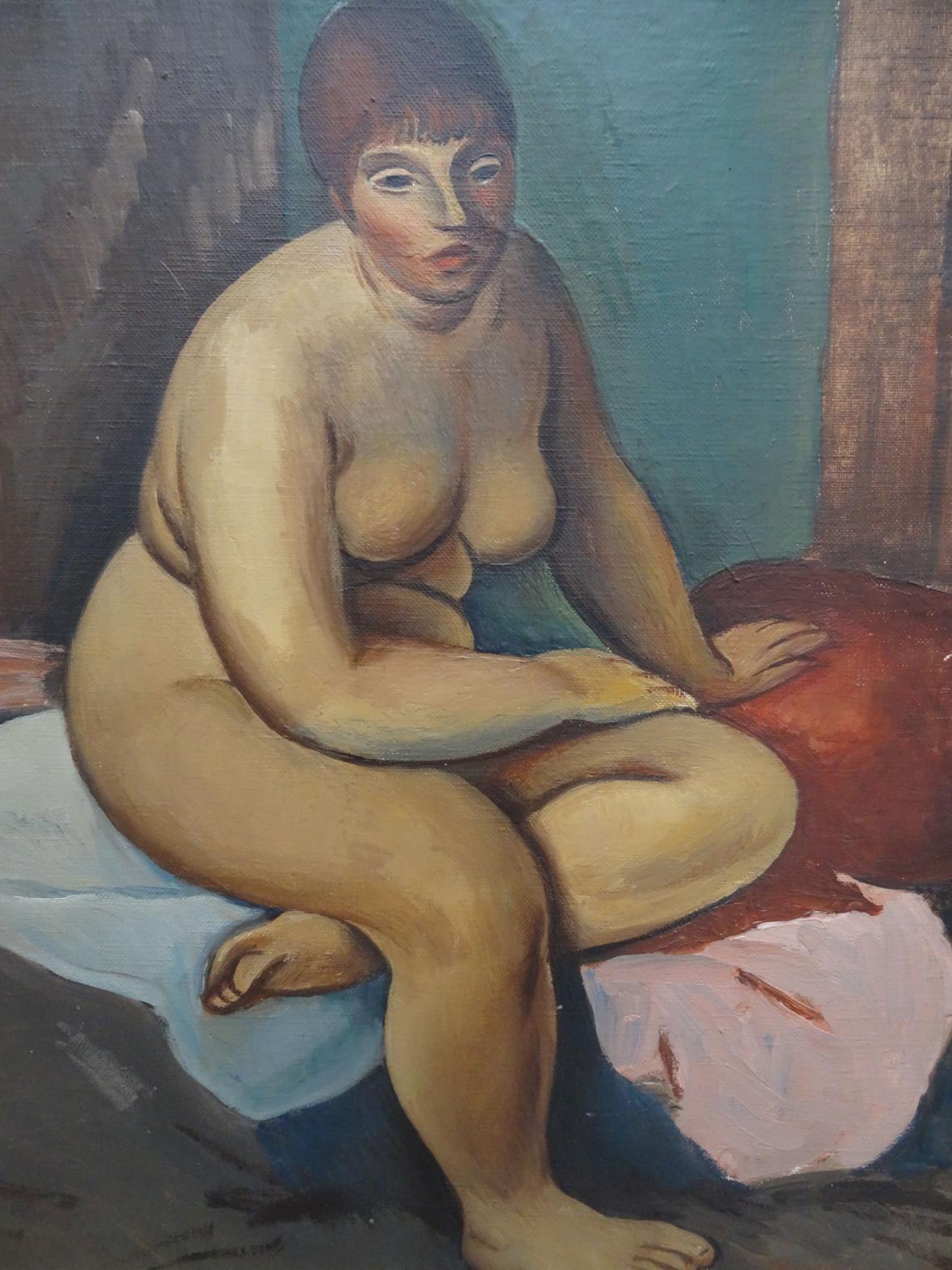 Alfréd Justitz / Akt, 1924